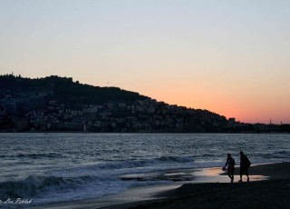 õhtu mereääres